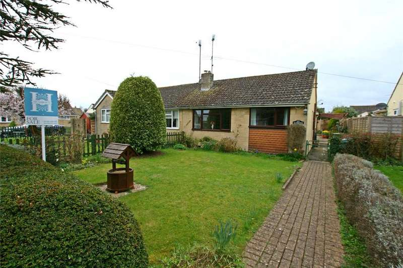 2 Bedrooms Semi Detached Bungalow for sale in Riverway, South Cerney, Cirencester, Gloucestershire