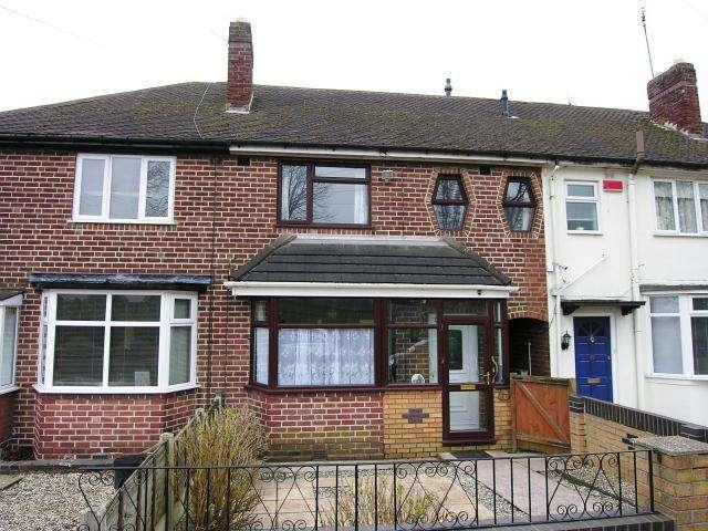 3 Bedrooms Terraced House for sale in Tysoe Road,Kingstanding,Birmingham