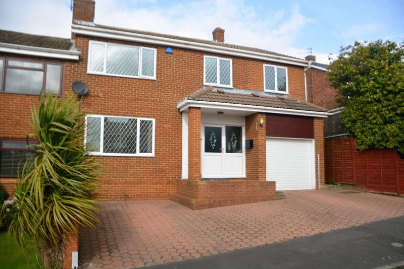 4 Bedrooms Semi Detached House for sale in Brookside, Witton Gilbert DH7