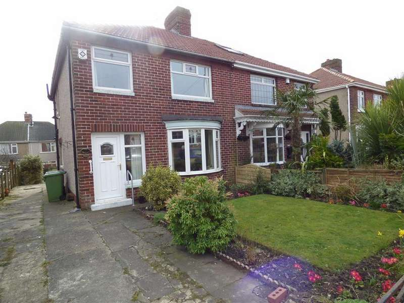 3 Bedrooms Semi Detached House for sale in 132, Dean Road, Ferryhill
