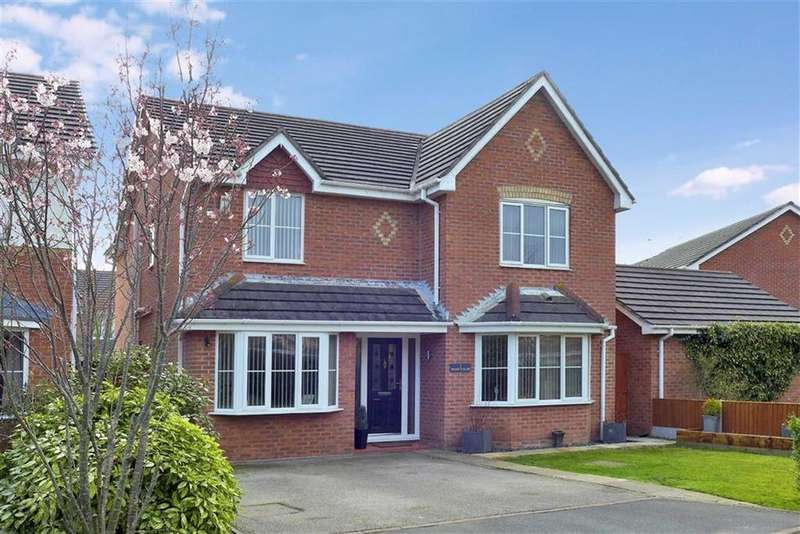 4 Bedrooms Detached House for sale in Perry Fields, Crewe