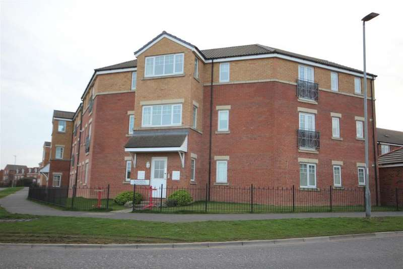 2 Bedrooms Apartment Flat for sale in Blackberry Apartments, Merlin Way, Hartlepool