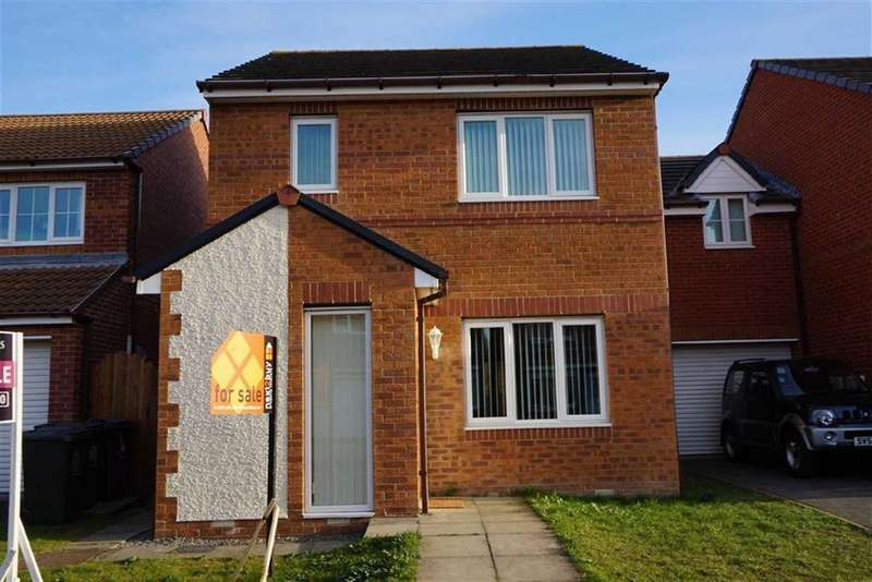 3 Bedrooms Detached House for sale in Alwin Close, Hadrian Mews, Wallsend, NE28
