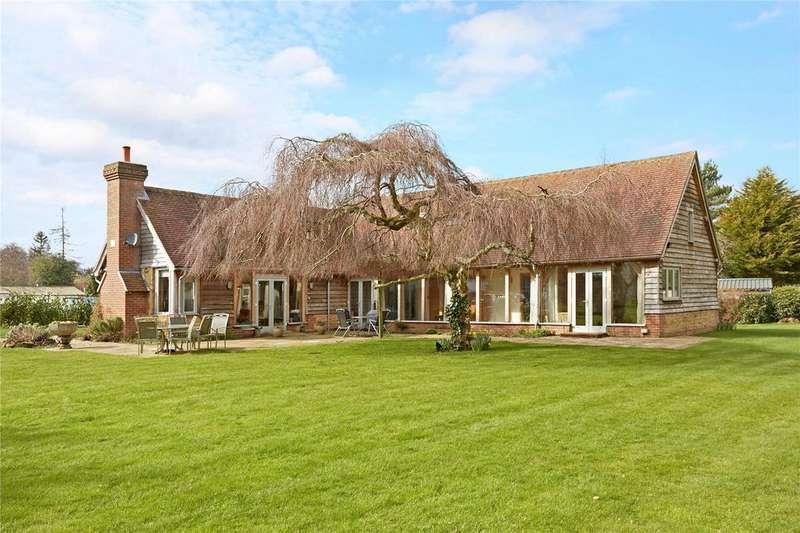 4 Bedrooms Detached House for sale in Gosden Common, Bramley, Guildford, Surrey, GU5
