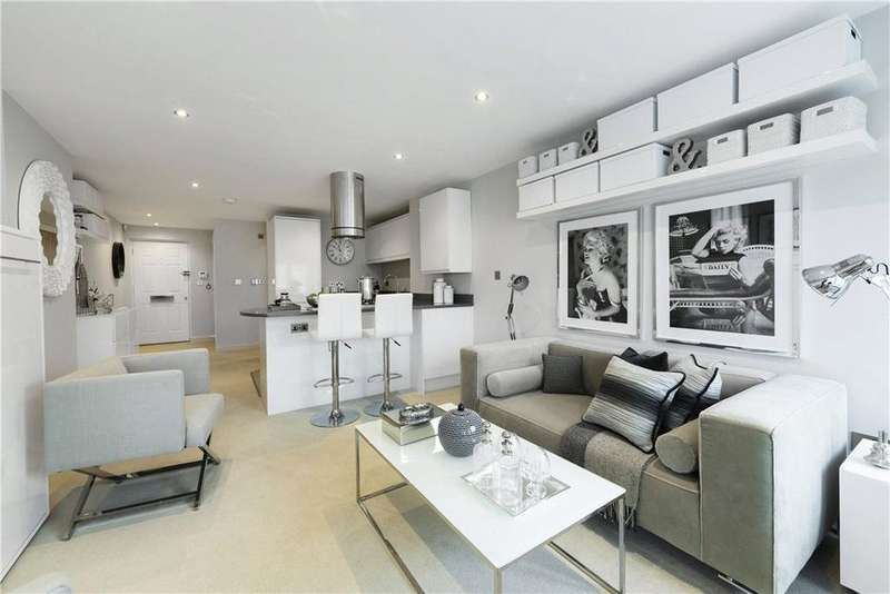 Studio Flat for sale in Quarry Street, Guildford, Surrey, GU1