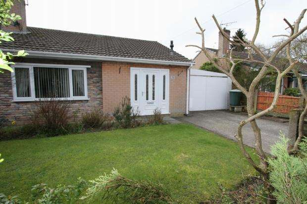 2 Bedrooms Semi Detached Bungalow for sale in Oak Avenue Abram Wigan