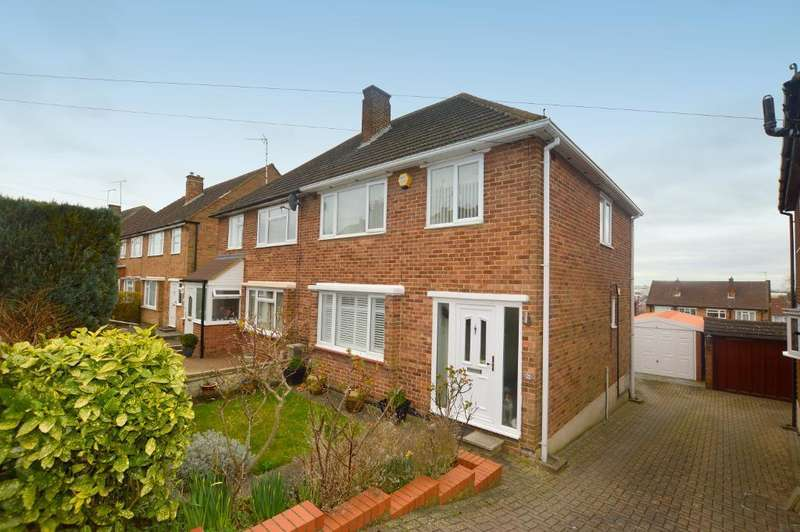 3 Bedrooms Semi Detached House for sale in Grampian Way, Luton, Bedfordshire, LU3 3HB