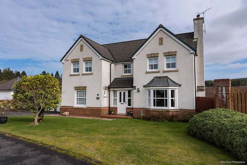 4 Bedrooms Detached House for sale in Kellie Wynd, Dunblane, Scotland, fk15 0nr