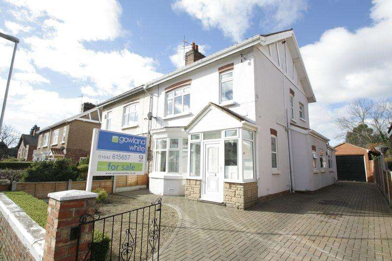 3 Bedrooms Semi Detached House for sale in Raby Road, Fairfield, Stockton, TS18 4HZ