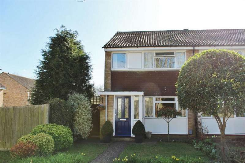 3 Bedrooms End Of Terrace House for sale in Keats Way, Hitchin, Hertfordshire