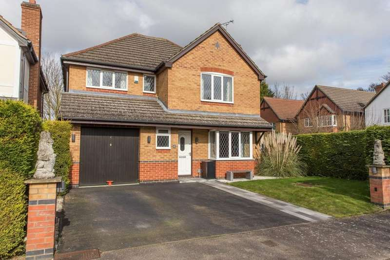 4 Bedrooms Detached House for sale in Stephenson Close, ROYSTON, SG8
