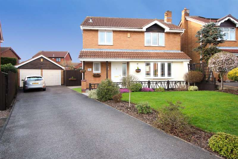 4 Bedrooms House for sale in Wychwood Drive, Trowell