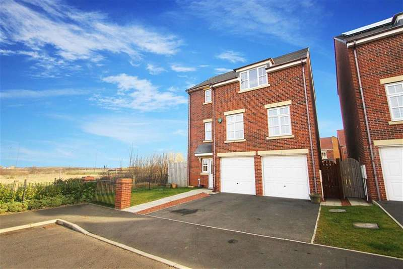 4 Bedrooms Detached House for sale in Ridley Gardens, Earsdon View, Tyne And Wear