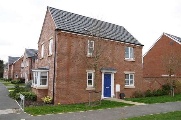 3 Bedrooms Semi Detached House for sale in Angell Drive, Market Harborough, Leicestershire