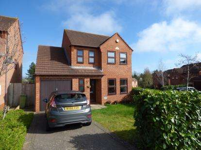 3 Bedrooms Detached House for sale in Pyke Hayes, Two Mile Ash, Milton Keynes, Bucks