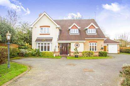 4 Bedrooms Detached House for sale in Quickthorns, Oadby, Leicester, Leicestershire