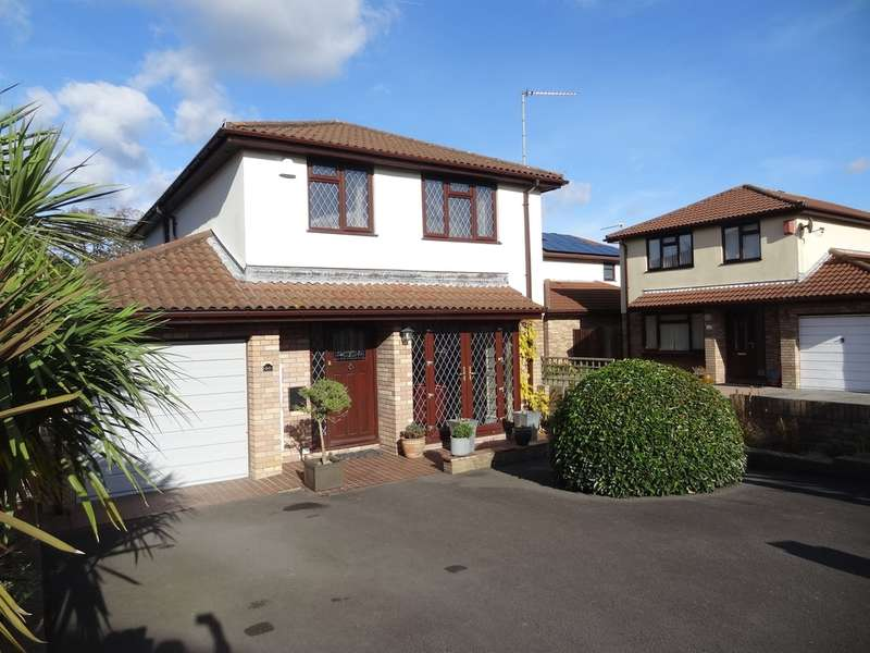 4 Bedrooms Detached House for sale in Woodham Park, Barry
