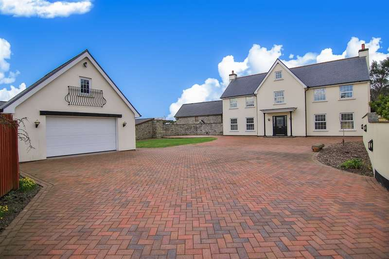 4 Bedrooms Detached House for sale in Eglwys Nunnydd, Margam