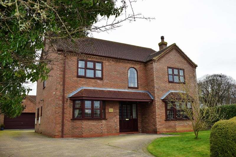 5 Bedrooms Detached House for sale in Barnside, Hibaldstow