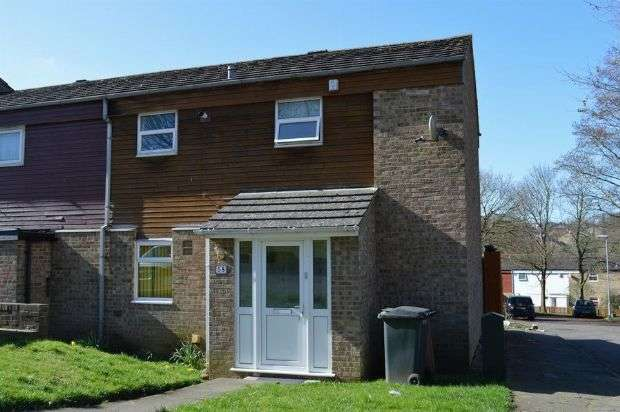 2 Bedrooms End Of Terrace House for sale in Wade Meadow Court, Lings, Northampton NN3 8ND
