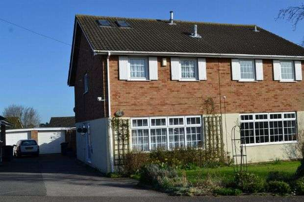 4 Bedrooms Semi Detached House for sale in Goodwood Avenue, Parklands, Northampton NN3 6EN