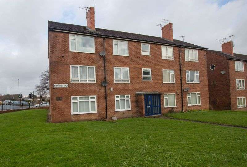 2 Bedrooms Flat for sale in Bamburgh Walk, Fawdon