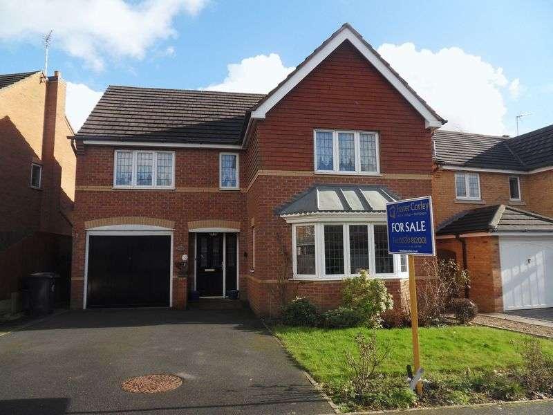 4 Bedrooms Detached House for sale in Sandringham Road, Coalville