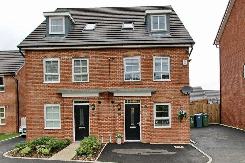 4 Bedrooms Mews House for sale in Lodge Close, Radcliffe, Manchester
