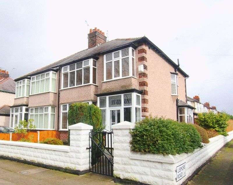 3 Bedrooms Semi Detached House for sale in Brodie Avenue, Mossley Hill, Liverpool, L18