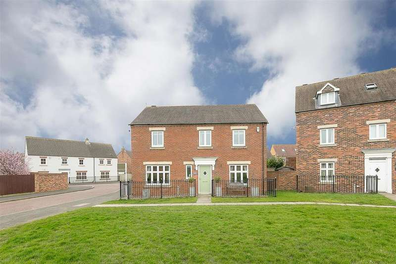 4 Bedrooms Detached House for sale in Barmoor Drive, Great Park, Newcastle upon Tyne