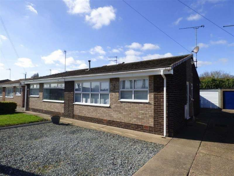 2 Bedrooms Semi Detached Bungalow for sale in Winchester Close, Hull, East Yorkshire, HU9