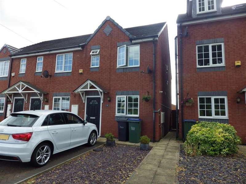 2 Bedrooms End Of Terrace House for sale in Sydney Road, Cradley Heath