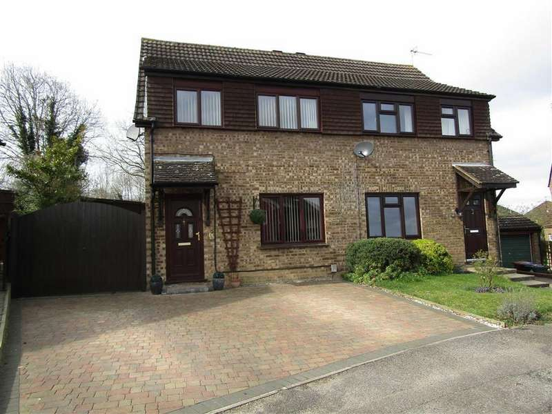 3 Bedrooms Semi Detached House for sale in Browning Drive, Hitchin, SG4