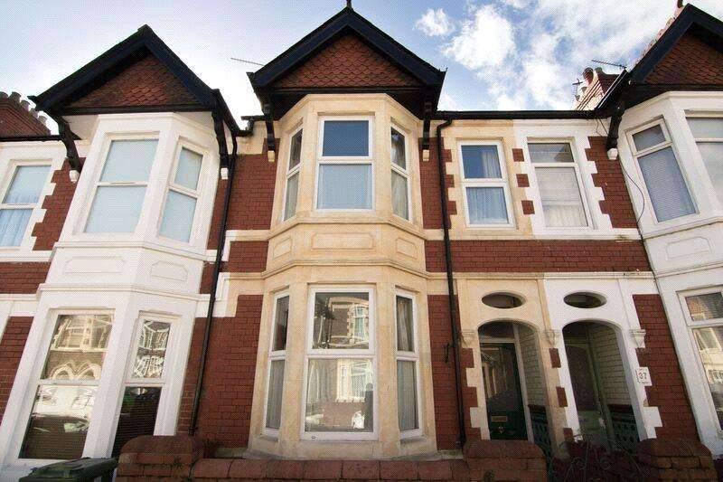 3 Bedrooms Terraced House for sale in Lisvane Street, Cathays, Cardiff, CF24