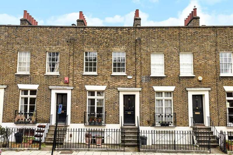 3 Bedrooms Terraced House for sale in Walcot Square, Kennington, SE11
