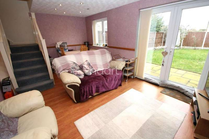 3 Bedrooms Semi Detached House for sale in Mandarin Way, Whetstone, Leicester