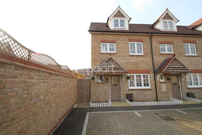 4 Bedrooms End Of Terrace House for sale in Jackdaw Way, St. Andrews Park, Halling