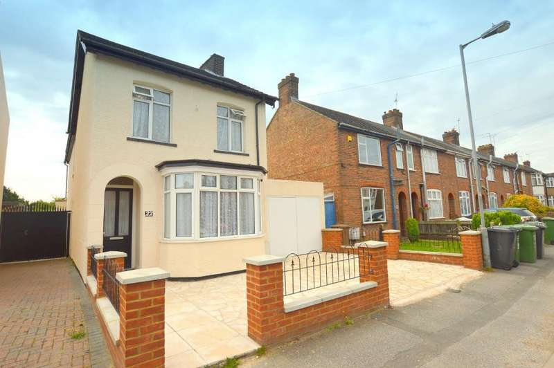 4 Bedrooms Detached House for sale in Gardenia Avenue, Luton, Bedfordshire, LU3 2NS