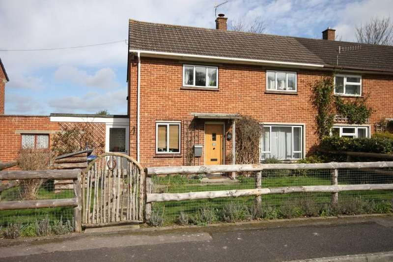 2 Bedrooms Semi Detached House for sale in PARSONAGE GREEN, HARNHAM, WILTSHIRE