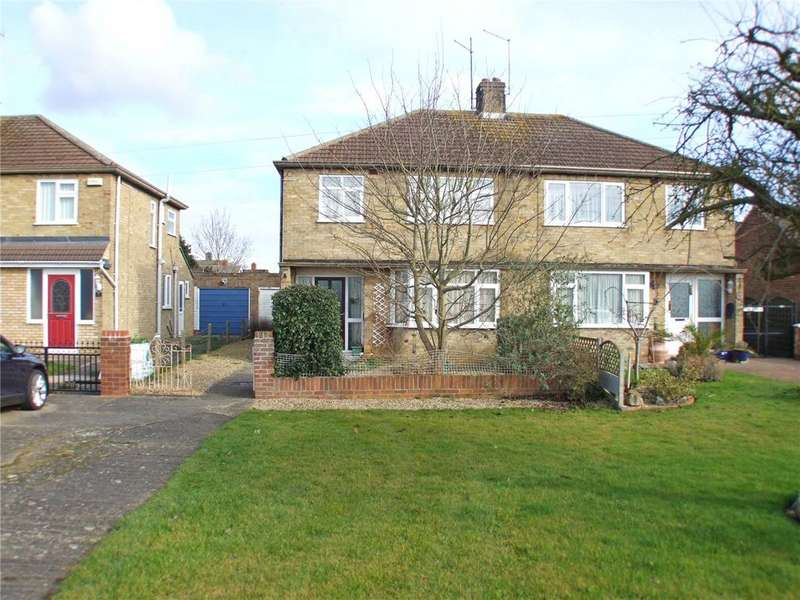 3 Bedrooms Semi Detached House for sale in Granville Avenue, Northborough, Peterborough, Cambridgeshire, PE6