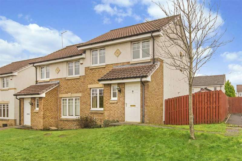 3 Bedrooms Semi Detached House for sale in 8 Gillespie Place, Armadale, West Lothian, EH48