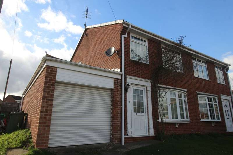 3 Bedrooms Semi Detached House for sale in Bramcote Drive, Retford, DN22