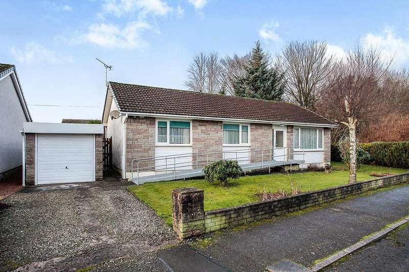 3 Bedrooms Detached Bungalow for sale in Station Road, Locharbriggs, Dumfries, DG1