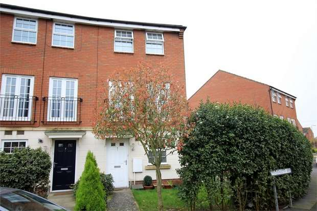 3 Bedrooms End Of Terrace House for sale in Oystermouth Way, Coedkernew, NEWPORT