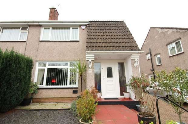3 Bedrooms Semi Detached House for sale in Alanbrooke Avenue, Newport