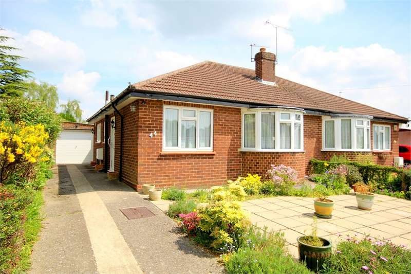 2 Bedrooms Semi Detached Bungalow for sale in Hall Drive, Harefield, Middlesex