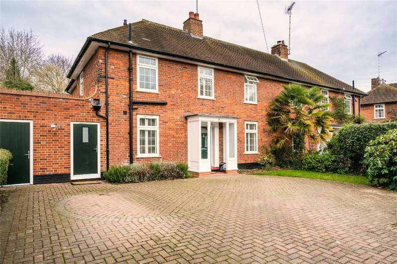 4 Bedrooms Semi Detached House for sale in Valley Road, WELWYN GARDEN CITY, Hertfordshire