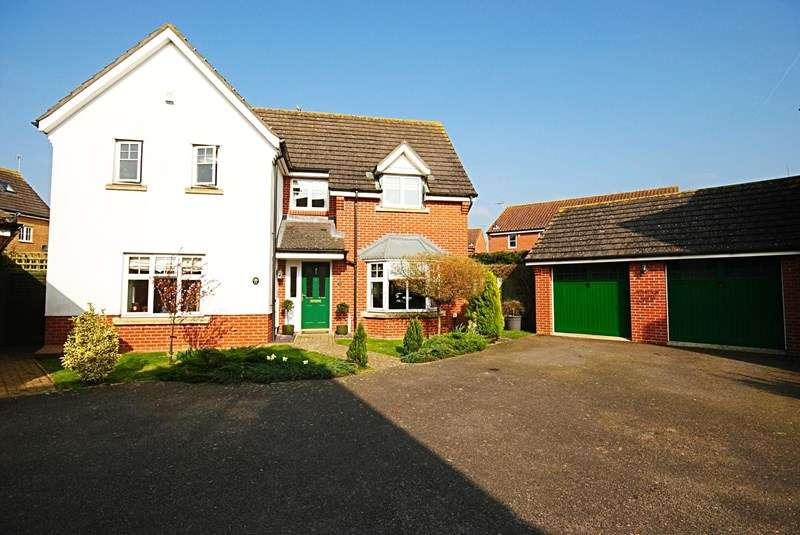4 Bedrooms Detached House for sale in Ashton Road, Eye