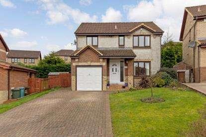 4 Bedrooms Detached House for sale in Callander Road, Cumbernauld