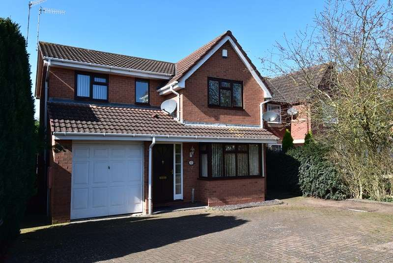 4 Bedrooms Detached House for sale in South Park Drive, Droitwich